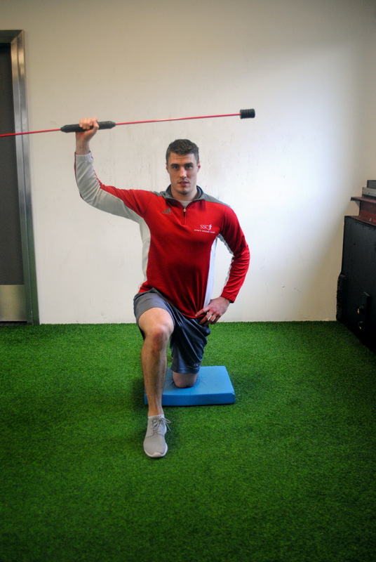 shoulder perturbation training
