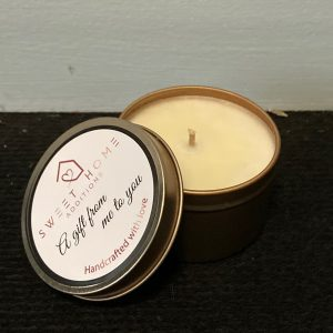 Giftingl Travel Tin Candle