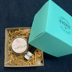 Breathe easy and gifting candle